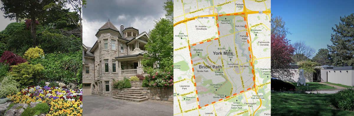 Bridle Path & York Mills, Toronto neighbourhood